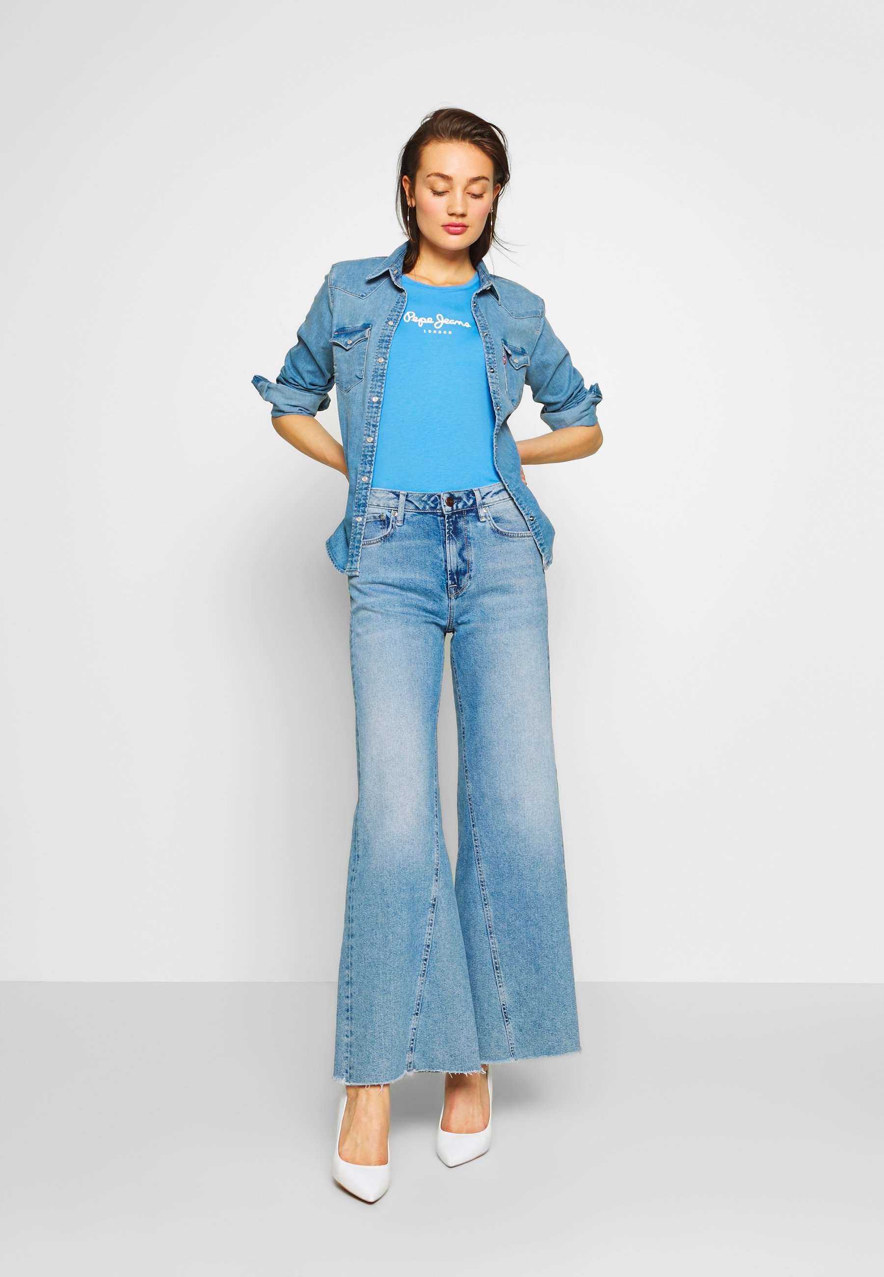 Pepe Jeans Hailey - Jean Flare Denim