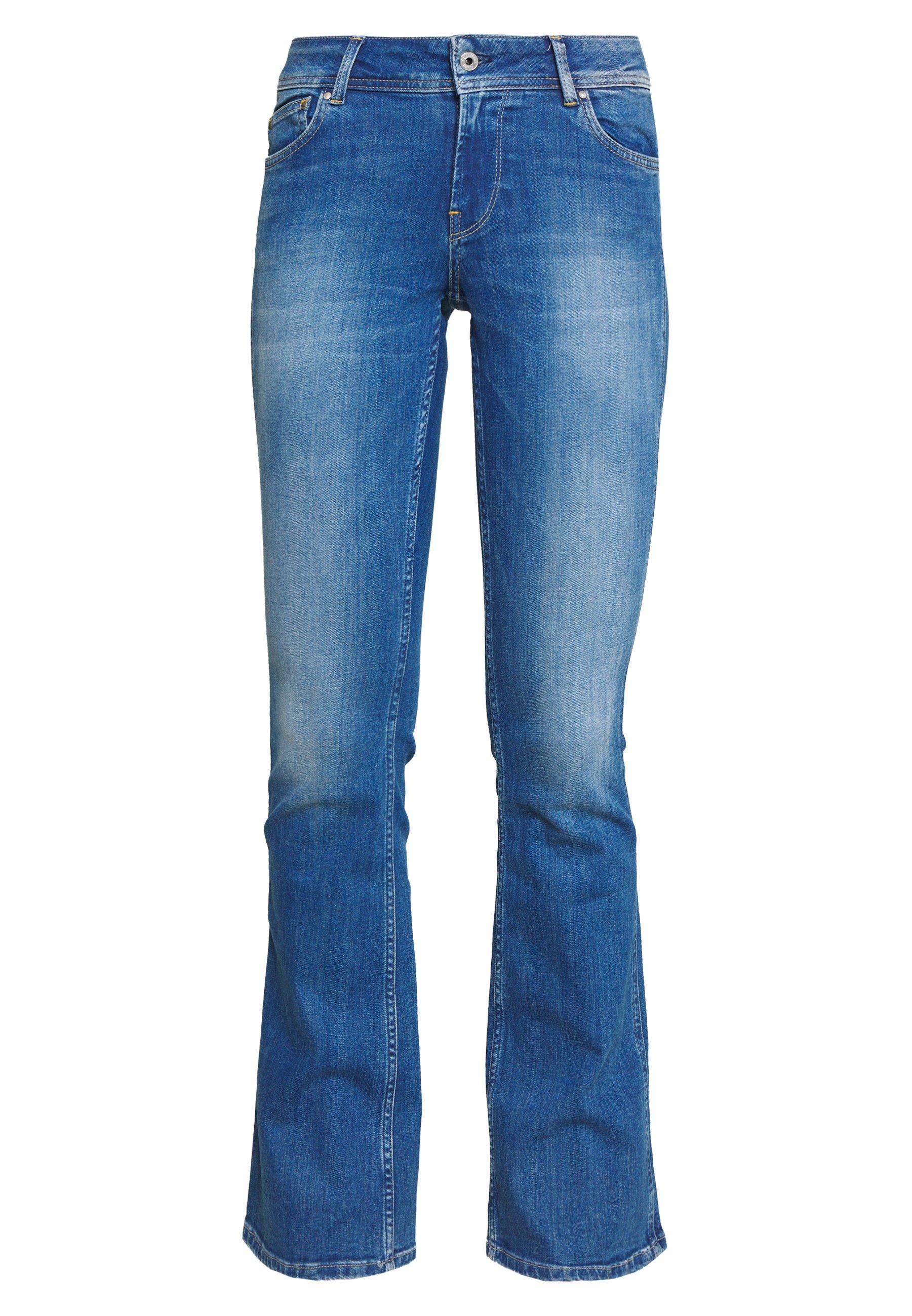 Pepe Jeans New Pimlico - Jean Flare Blue Denim
