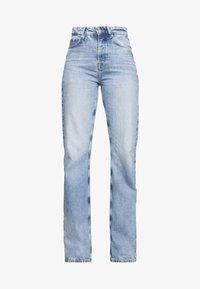 Pepe Jeans - DUA LIPA x PEPE JEANS - Džíny Straight Fit - light blue denim - 3