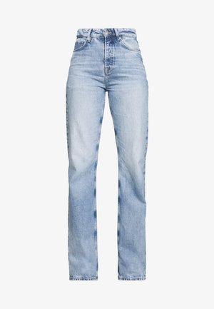 DUA LIPA x PEPE JEANS - Jeans straight leg - light blue denim