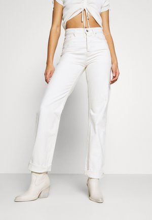 DUA LIPA x PEPE JEANS - Straight leg jeans - ecru
