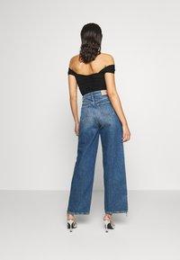 Pepe Jeans - DUA LIPA x PEPE JEANS - Široké džíny - dark blue denim - 2
