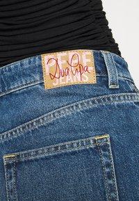 Pepe Jeans - DUA LIPA x PEPE JEANS - Široké džíny - dark blue denim - 6