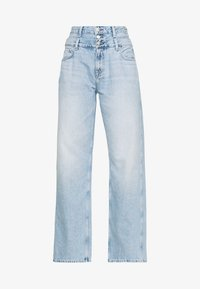 Pepe Jeans - DUA LIPA x PEPE JEANS - Široké džíny - light-blue denim - 4
