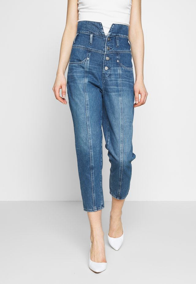 WYNNE - Jeansy Relaxed Fit - blue denim