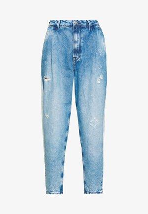 AURORA PAINT - Relaxed fit jeans - blue denim