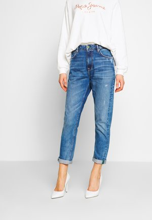 BRIGADE - Jean boyfriend - blue denim