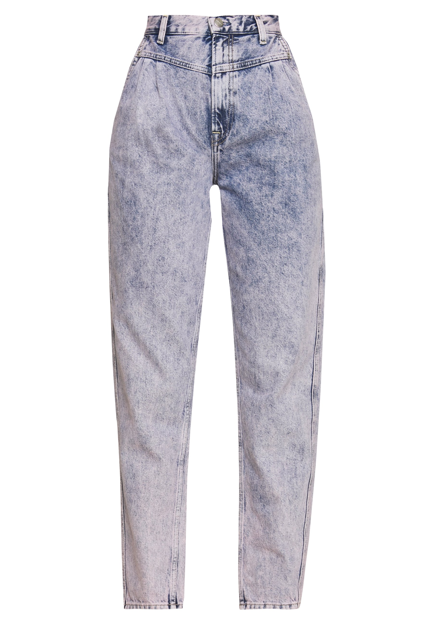Pepe Jeans DUA LIPA X PEPE JEANS - Jeansy Relaxed Fit - moon washed