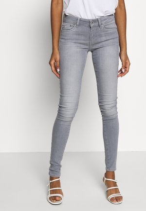 PIXIE - Vaqueros pitillo - grey denim