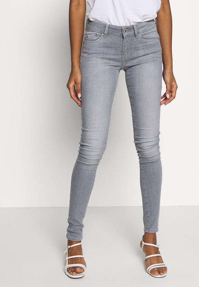 PIXIE - Skinny džíny - grey denim