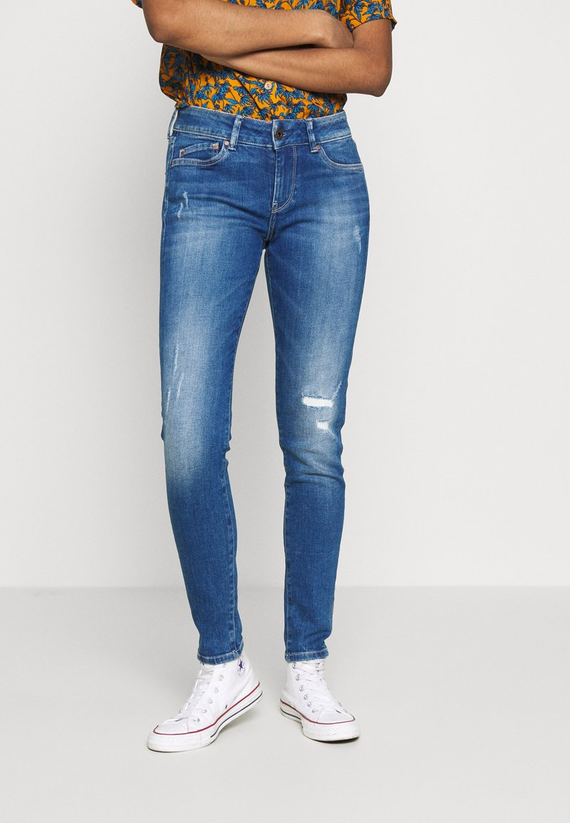 Pepe Jeans - PIXIE - Jeansy Skinny Fit - denim