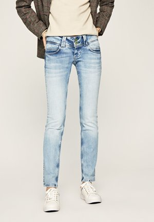 VENUS - Slim fit jeans - bleached denim