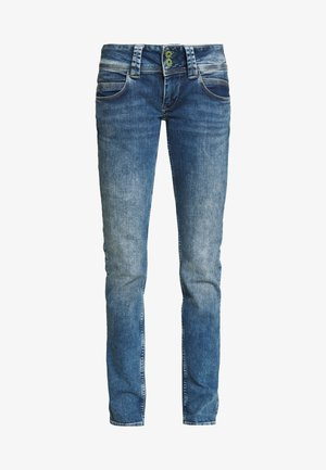 VENUS - Slim fit jeans - stone blue denim