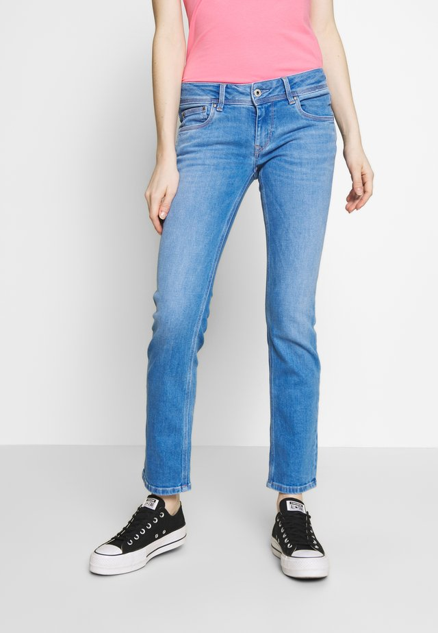 SATURN - Straight leg jeans - denim