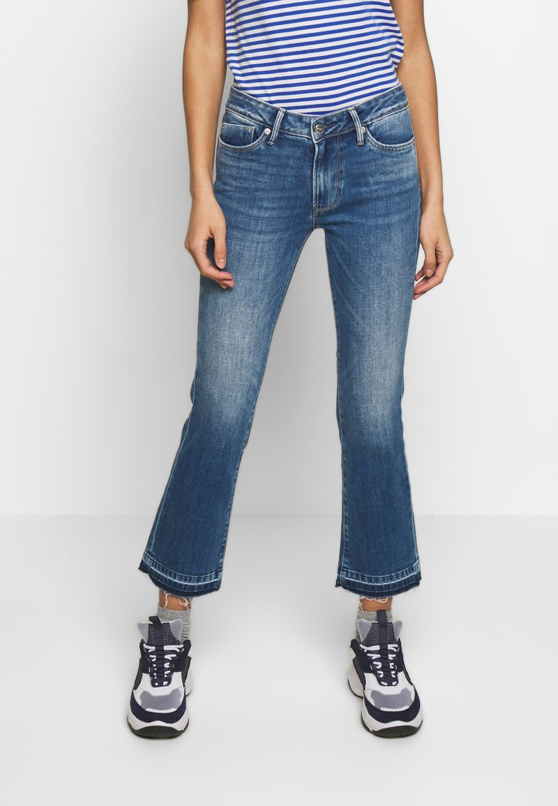 Pepe Jeans PICCADILLY 7/8 - Bootcut jeans - denim - Zalando.de