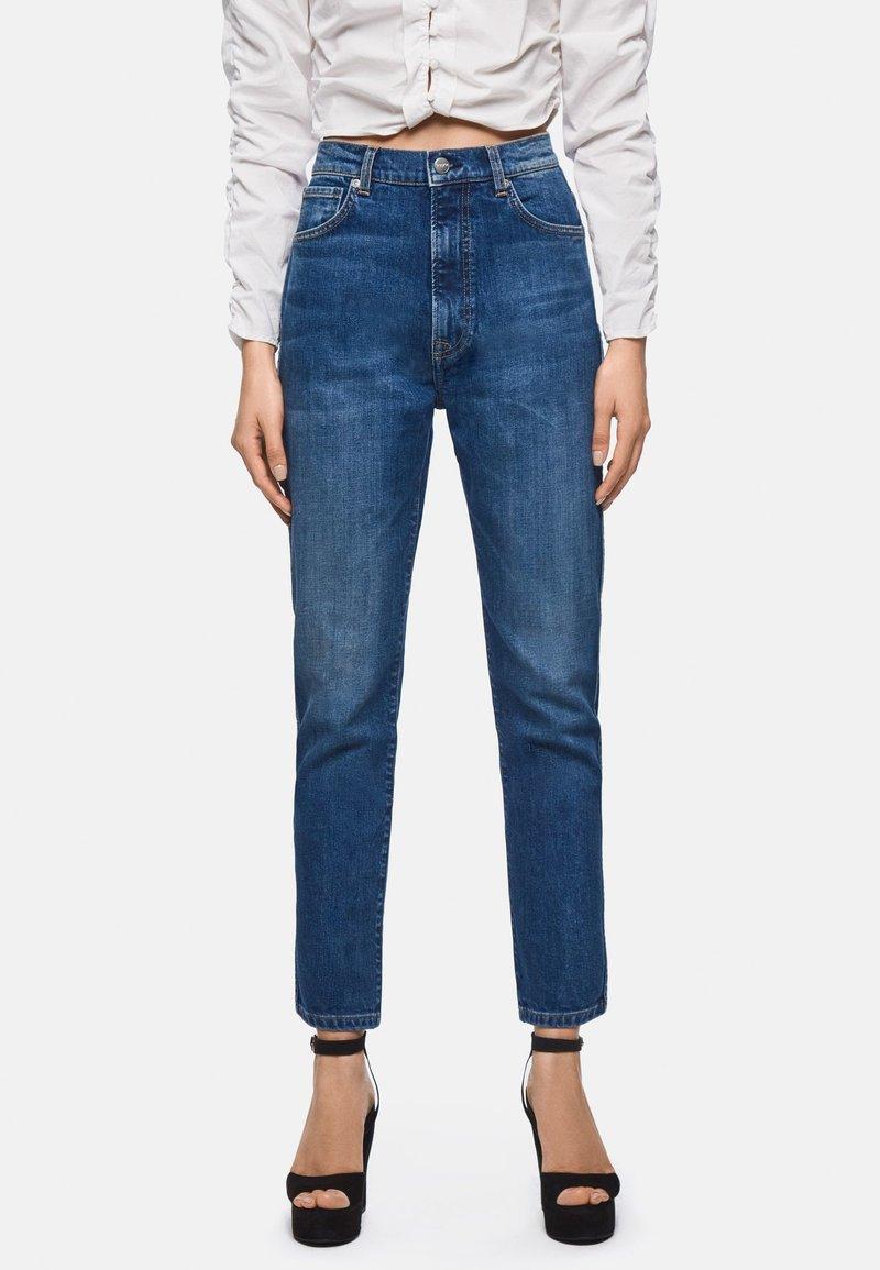 Pepe Jeans - DUA LIPA X PEPE JEANS - Jeans Straight Leg - blue denim
