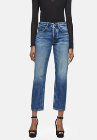 Pepe Jeans - DUA LIPA X PEPE JEANS - Straight leg jeans - blue denim - 0