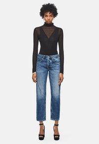 Pepe Jeans - DUA LIPA X PEPE JEANS - Straight leg jeans - blue denim - 1