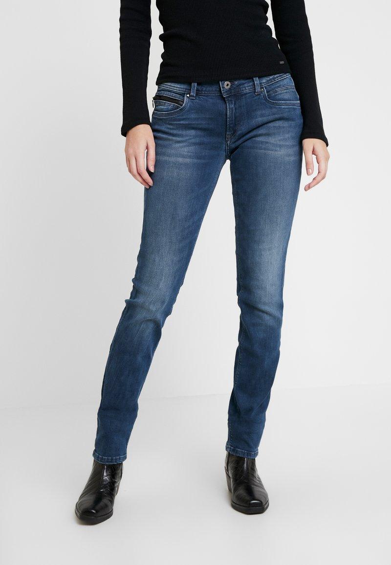 Pepe Jeans - NEW BROOKE - Džíny Slim Fit - denim