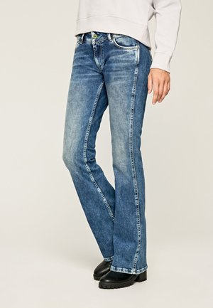 NEW PIMLICO - Bootcut jeans - blue denim