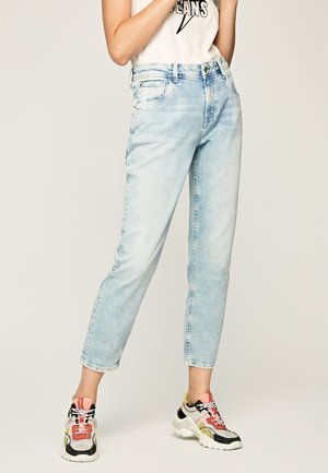VIOLET - Straight leg jeans - blue denim