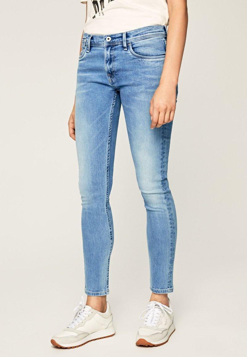 Pepe Jeans - JOEY - Jeans Skinny Fit - blue denim