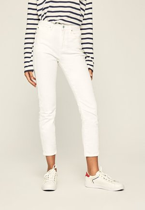 DION - Jeansy Slim Fit - white