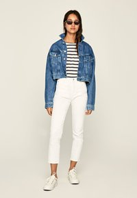 Pepe Jeans - DION - Jeansy Slim Fit - white - 1