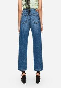 Pepe Jeans - DUA LIPA X PEPE JEANS  - Straight leg jeans - blue denim - 2