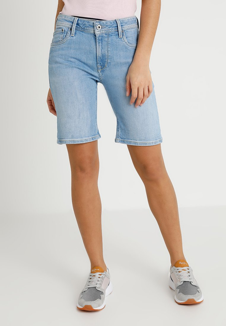 Pepe Jeans - POPPY - Jeans Shorts - 000denim