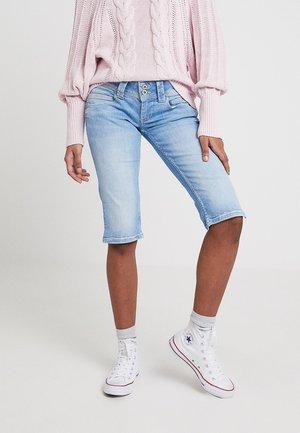 VENUS CROP - Denim shorts - 000denim