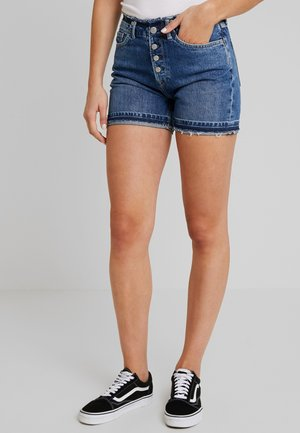 MARY REVIVE - Shorts di jeans - denim 110z archive mid blue