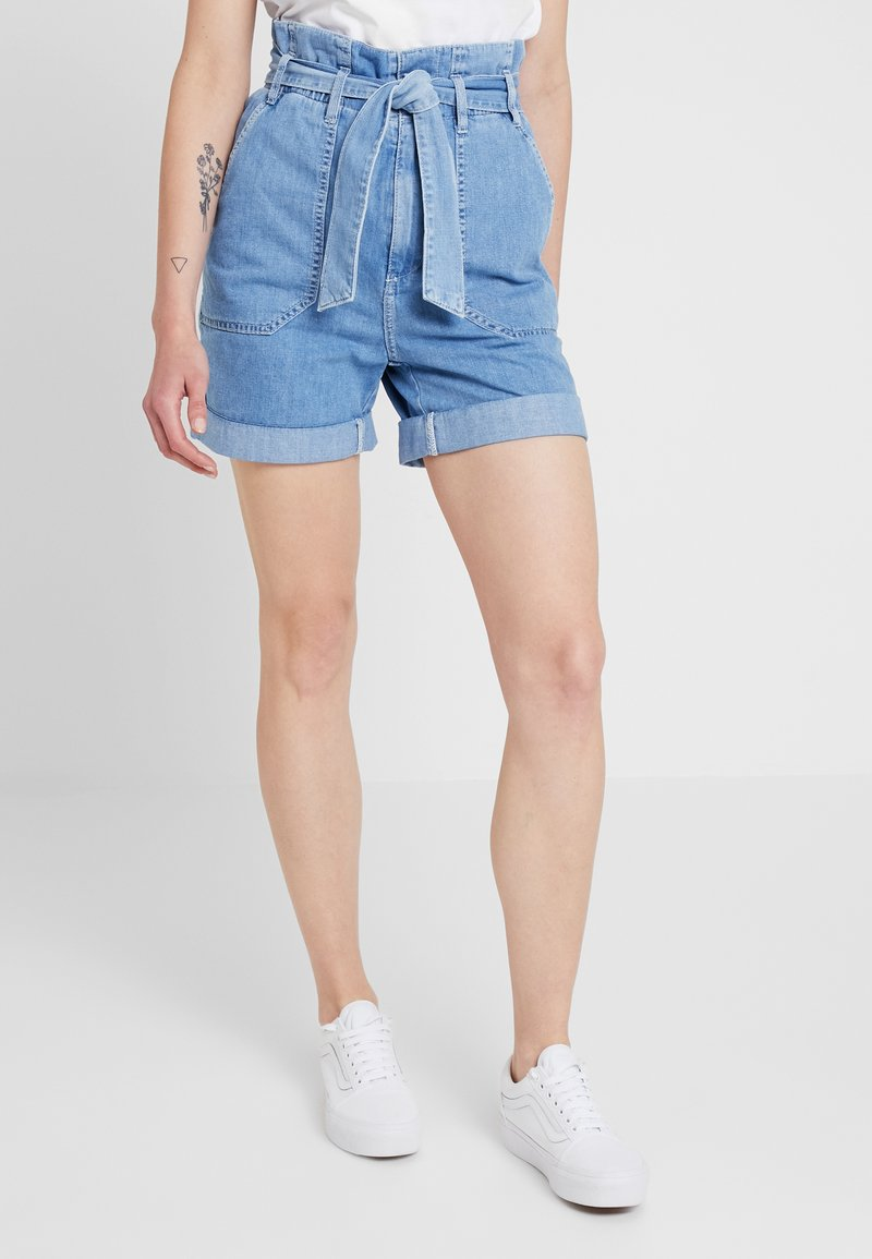 Pepe Jeans - PHOEBE - Jeansshort - blue denim