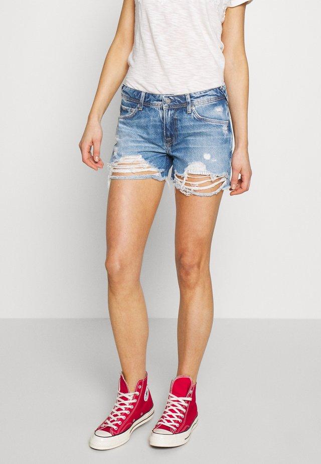 THRASHER - Jeansshorts - denim