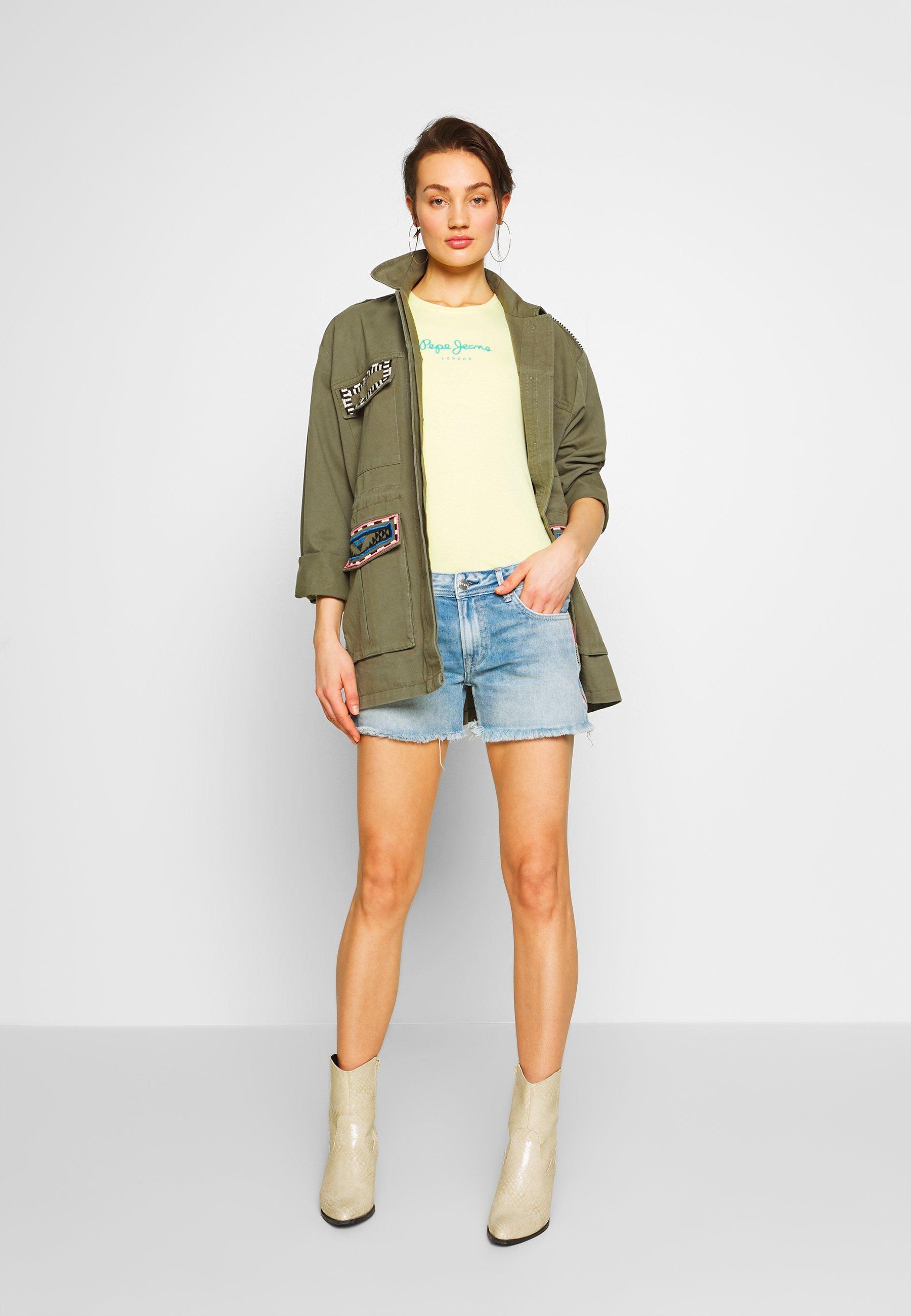 Pepe Jeans THRASHER RAINBOW - Shorts di jeans - denim