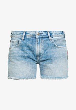 THRASHER RAINBOW - Shorts di jeans - denim