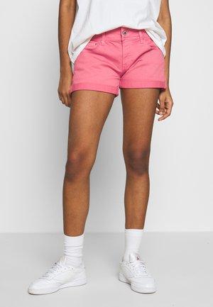 SIOUXIE - Denim shorts - dark sundae