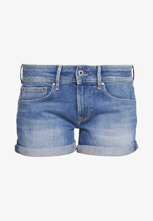 SIOUXIE - Jeansshort - blue denim