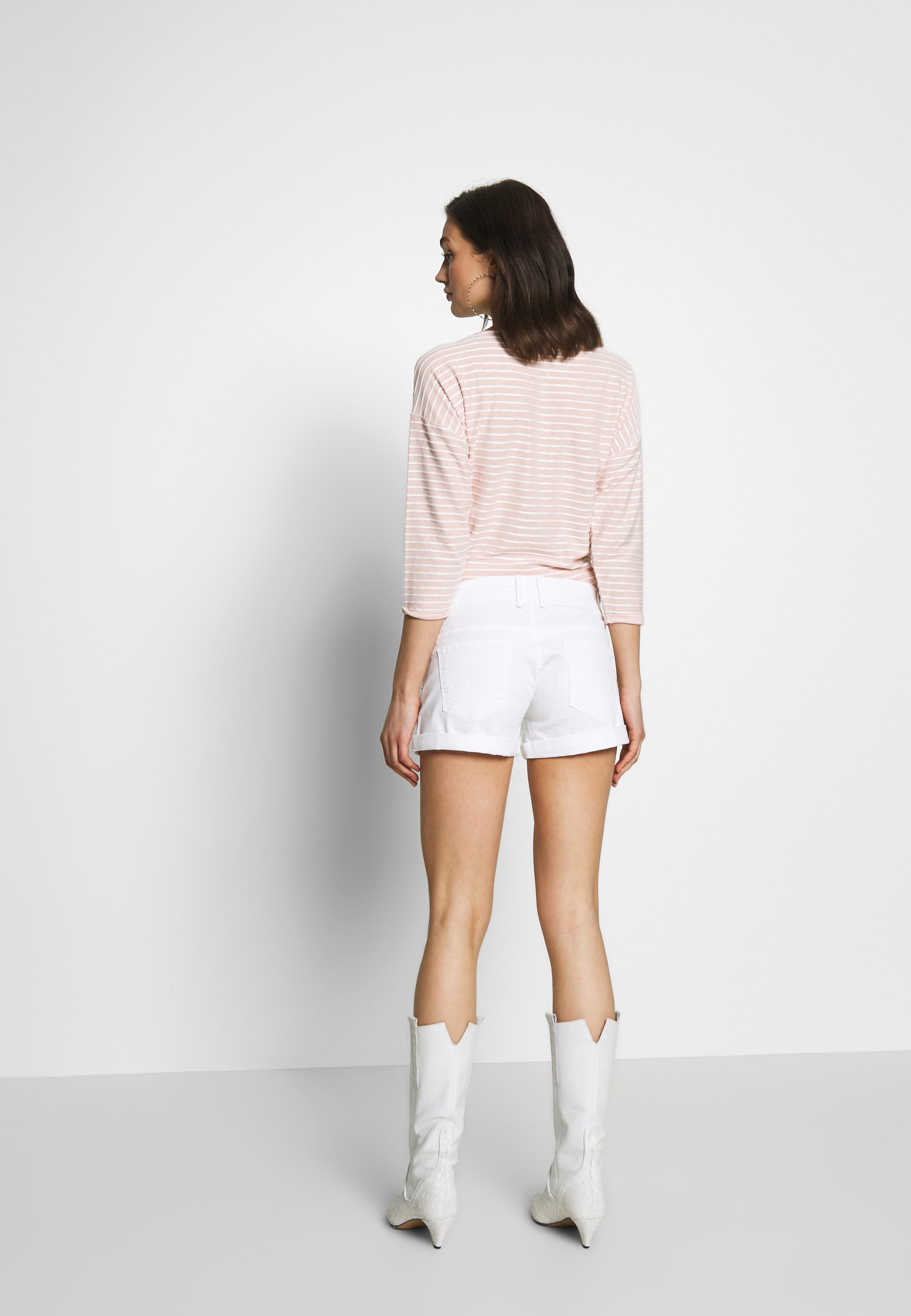 Pepe Jeans Siouxie - Jeansshort White Denim