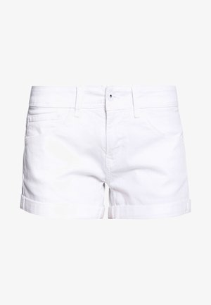 SIOUXIE - Jeansshort - white denim