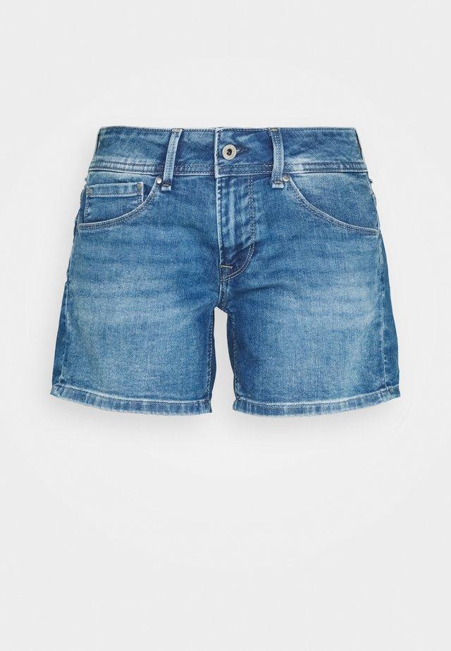 SIOUXIE - Jeans Shorts - denim