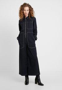 Pepe Jeans - DUA LIPA X PEPE JEANS - Jumpsuit - navy - 0