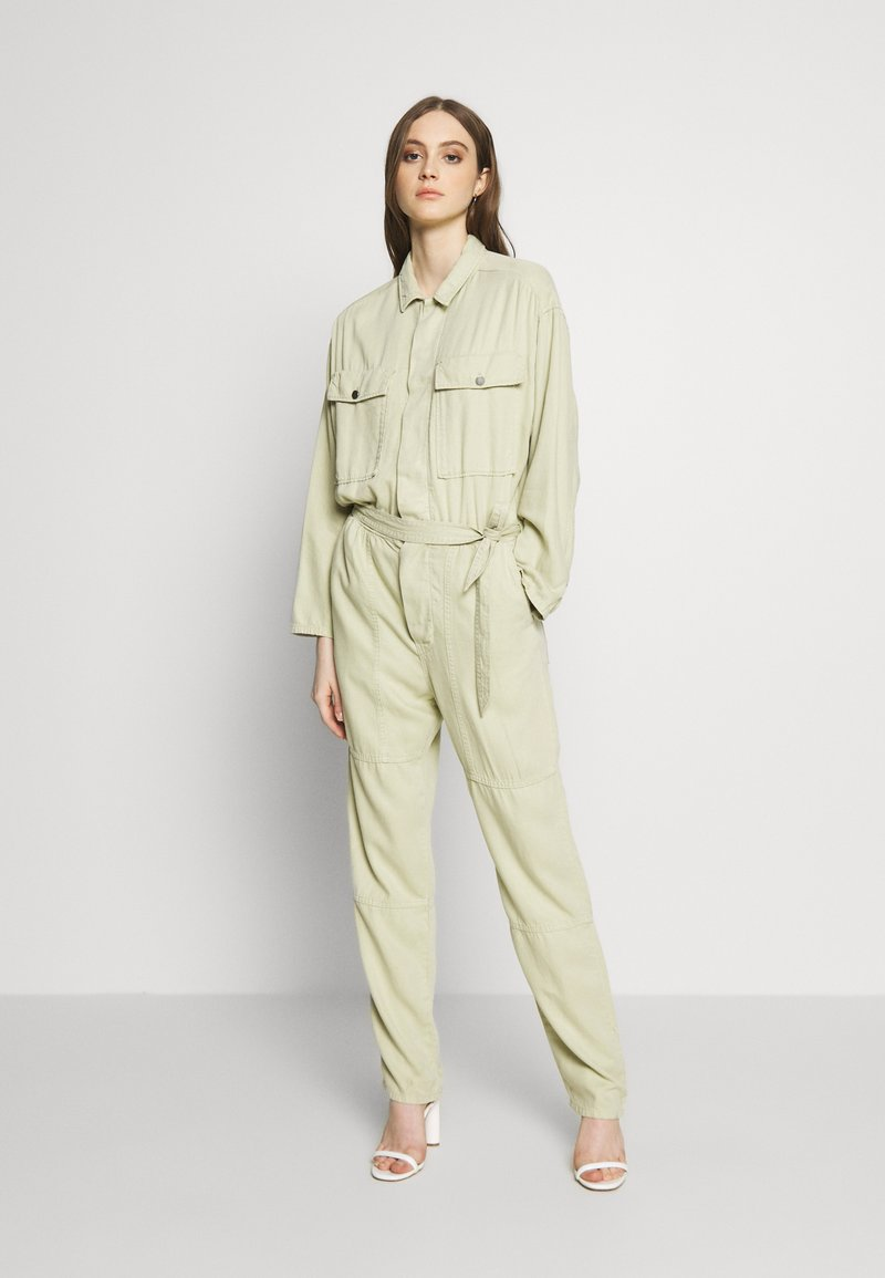 Pepe Jeans - COOPER JUMPSUIT - Overal - khaki green