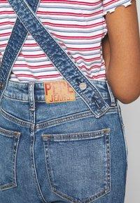 Pepe Jeans - ARIA - Tuinbroek - denim - 6