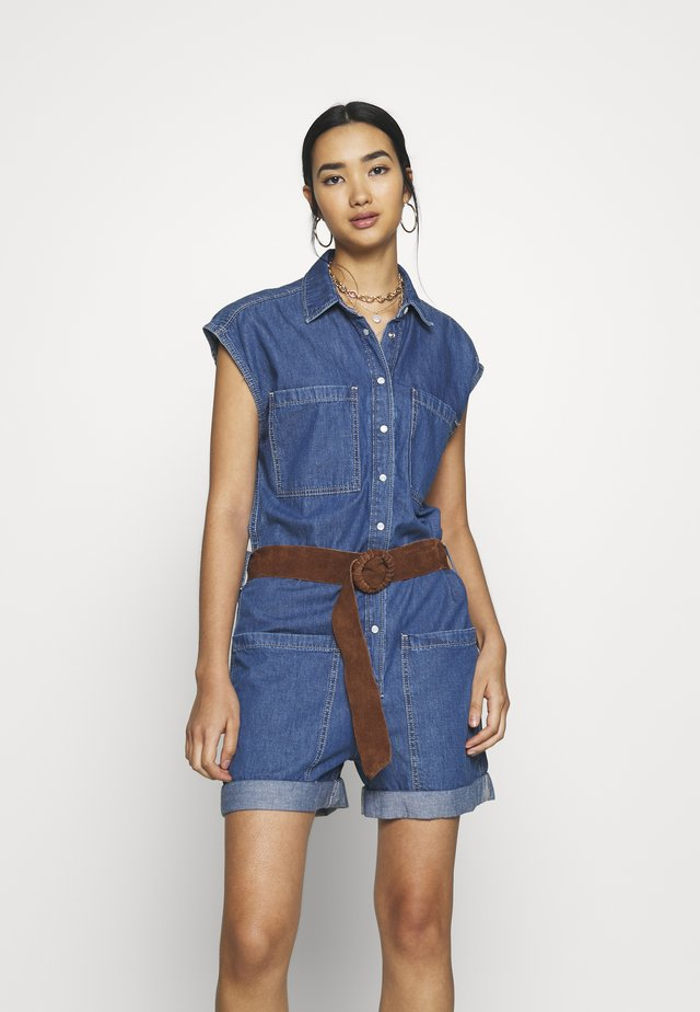 GEMMA - Tuta jumpsuit - denim