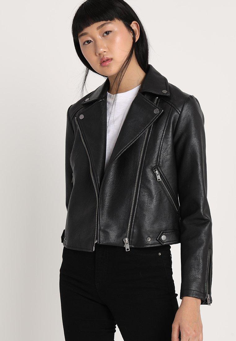 Pepe Jeans - OLGA - Faux leather jacket - black