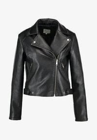 Pepe Jeans - OLGA - Faux leather jacket - black - 4