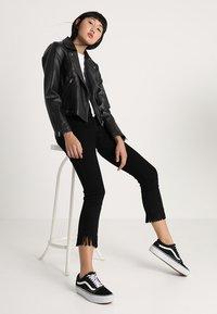 Pepe Jeans - OLGA - Faux leather jacket - black - 1