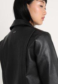 Pepe Jeans - OLGA - Faux leather jacket - black - 5