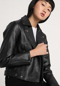 Pepe Jeans - OLGA - Faux leather jacket - black - 3
